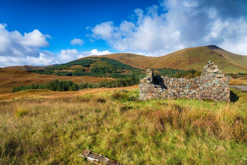 Torness in Schottland stockfotografie