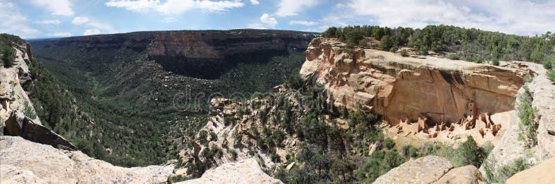 Tornhus Mesa Verde royaltyfria bilder