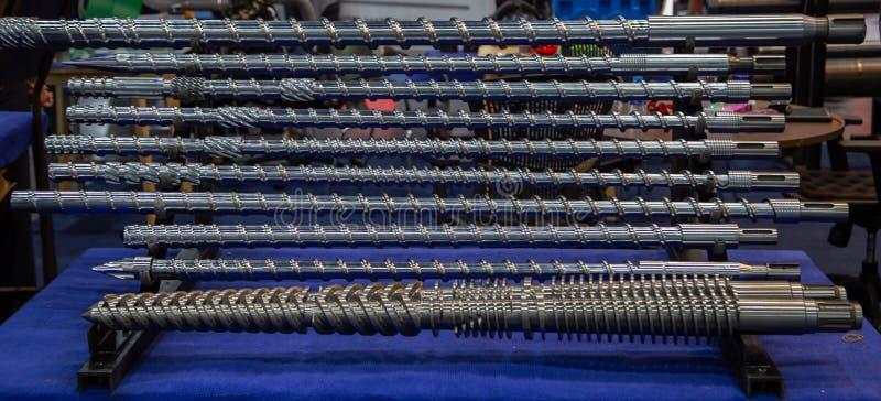 Tornillo del moldeo a presión fotografía de archivo