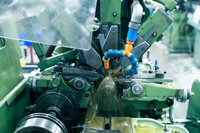 Tornio automatico Maichine immagine stock