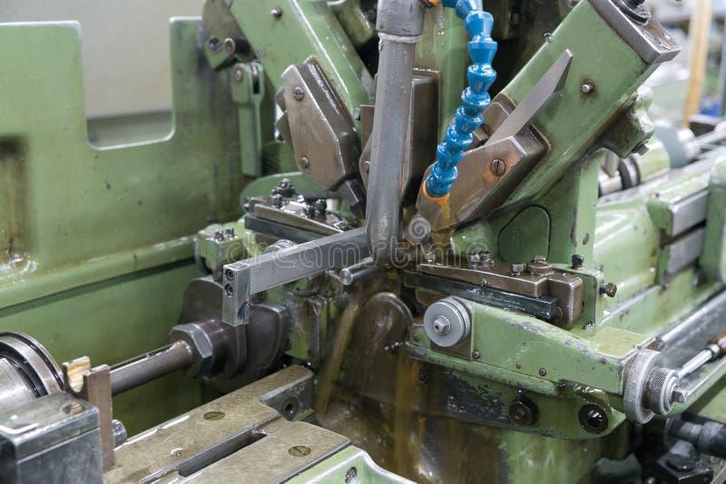 Tornio automatico Maichine fotografie stock libere da diritti
