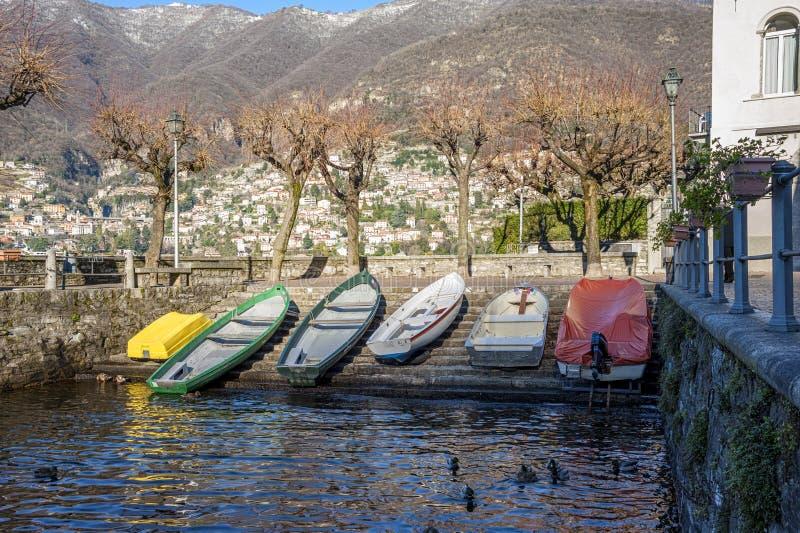 Torno (λίμνη Como) στοκ φωτογραφία