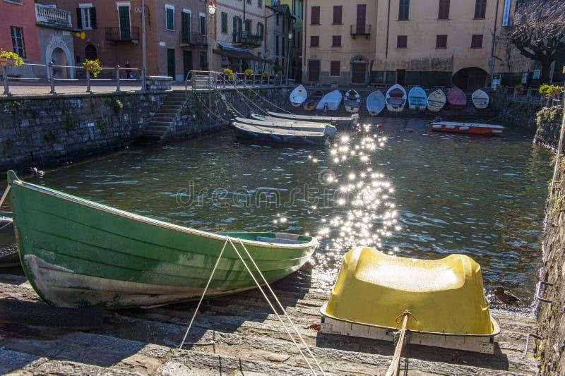 Torno (λίμνη Como) στοκ εικόνες με δικαίωμα ελεύθερης χρήσης
