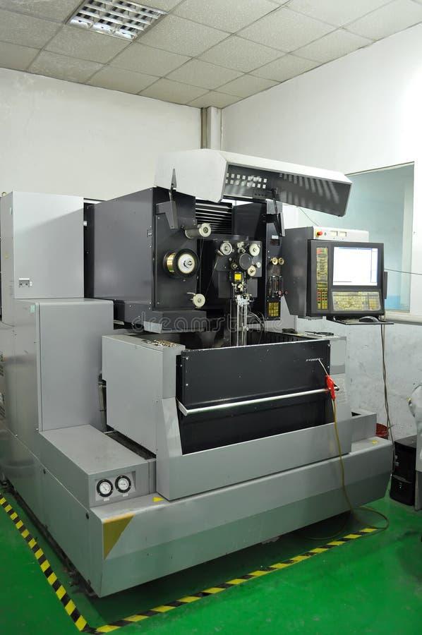 Torno del CNC imagenes de archivo