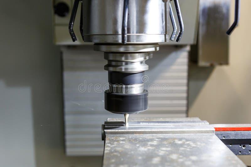 Torno, máquina de trituração do CNC foto de stock royalty free