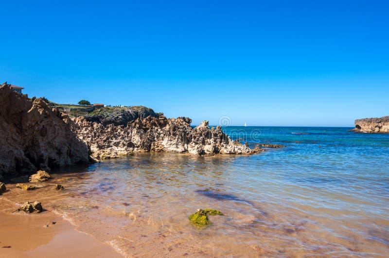 Toro Beach, Llanes, Asturias, Spain. Toro Beach in Llanes. Asturias, north of Spain royalty free stock image