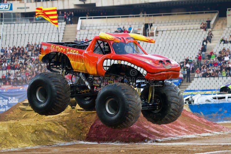 Toro de Knettergekke Vrachtwagen van het Monster royalty-vrije stock fotografie
