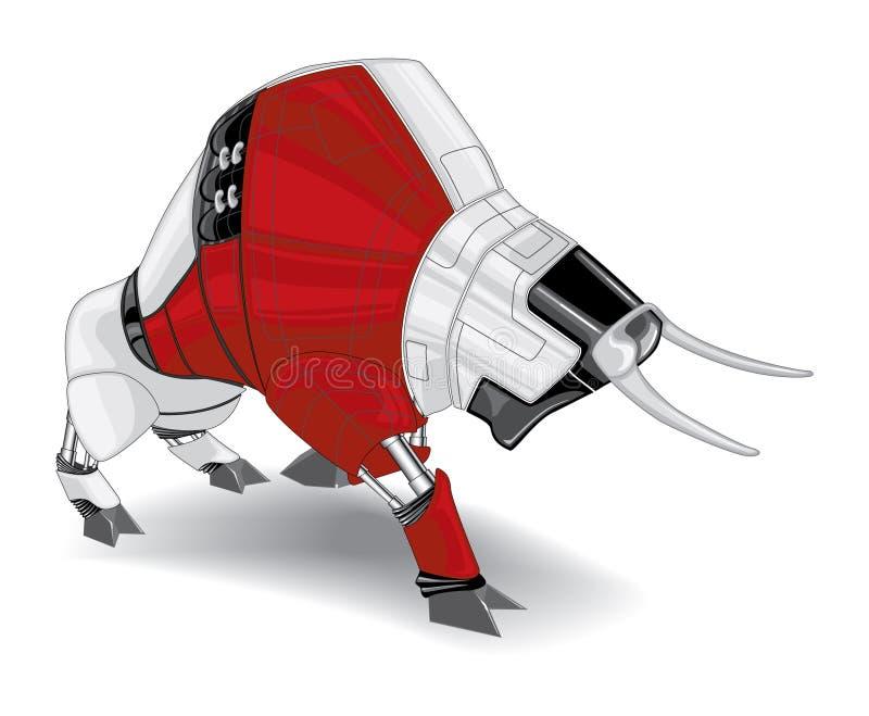 Toro electrónico libre illustration