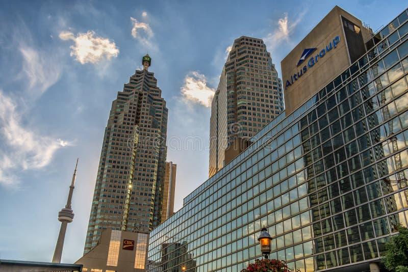 Toronto śródmieścia budynki