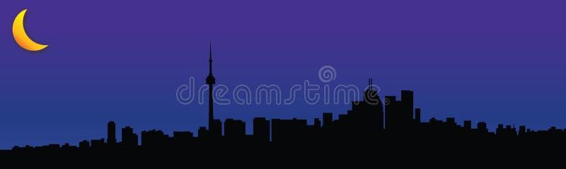 Toronto światła ilustracja wektor