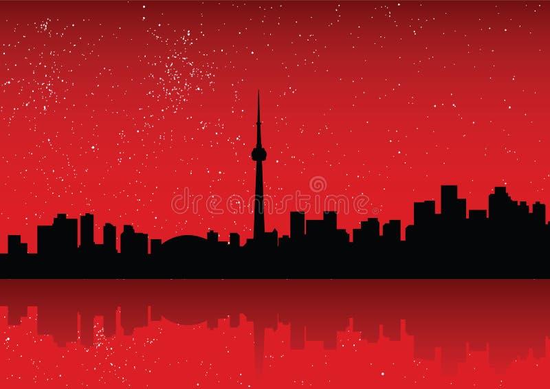 Toronto illustration de vecteur