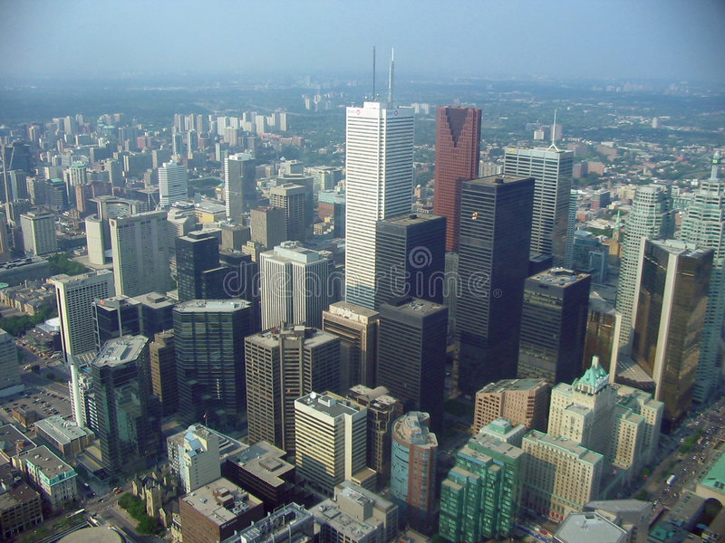 Toronto air 2 royalty free stock images