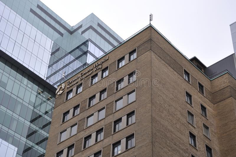 Toronto-Allgemeinkrankenhaus lizenzfreies stockbild