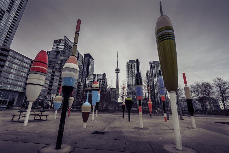 Toronto auf seinem 183. Geburtstag stockfotos