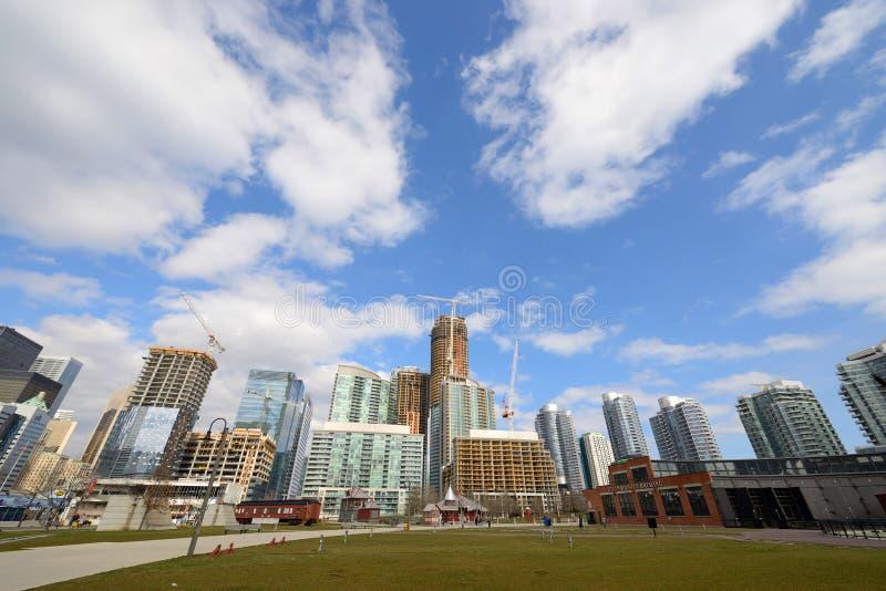 Toronto-Bauentwicklung stockbild