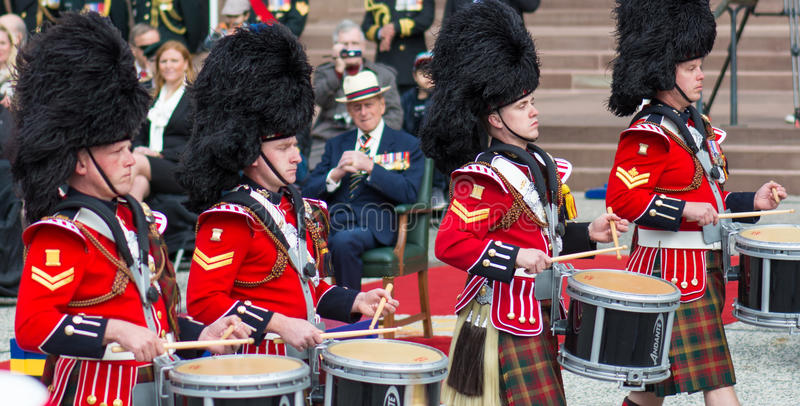 Toronto Bicentennial Commemoration of the Battle o royalty free stock image