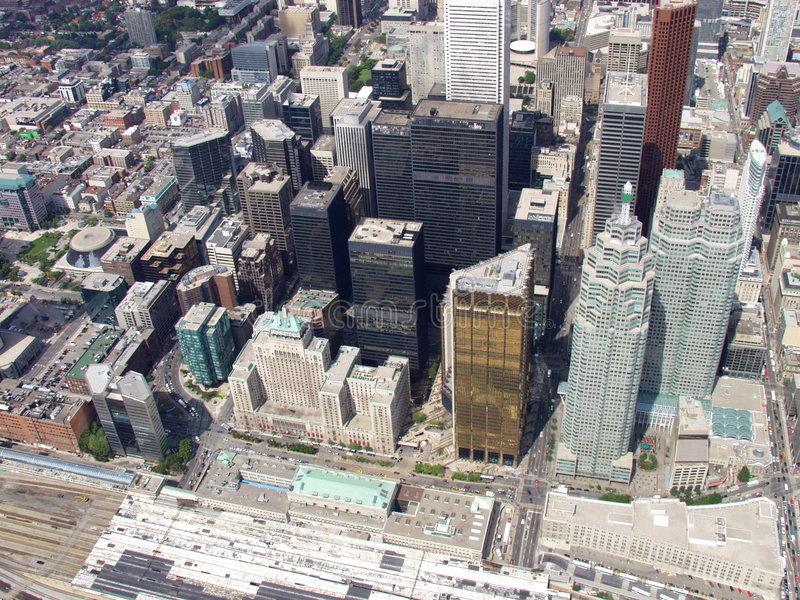 Toronto céntrico 2 imagen de archivo libre de regalías