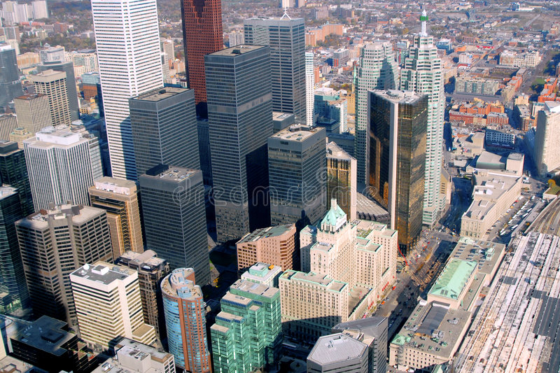 Toronto céntrico 3 fotos de archivo libres de regalías