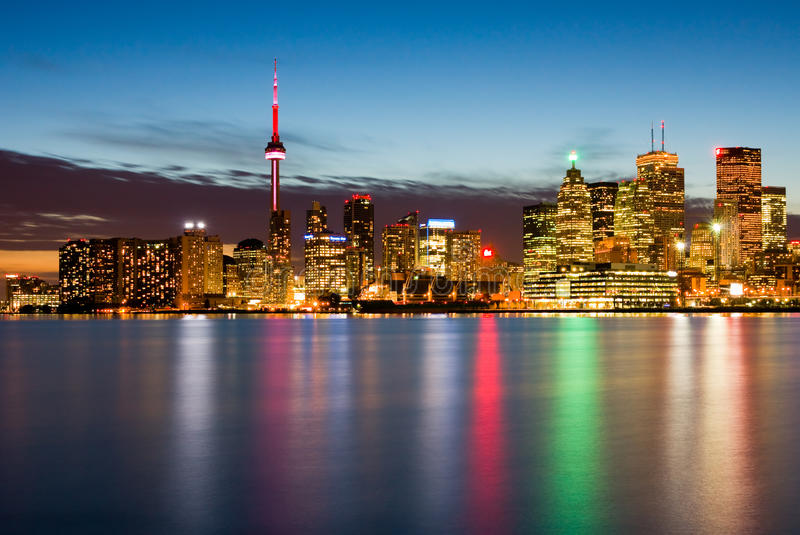 Download Toronto Canada stock photo. Image of city, reflection - 16274104