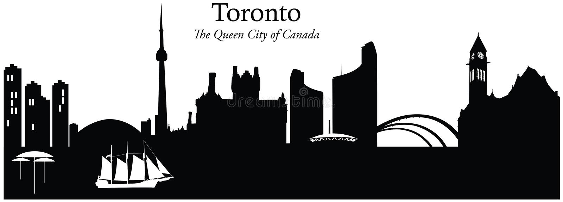 Toronto, Canada illustration stock