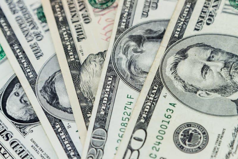 The United States American dollar bills. TORONTO CANADA - NOV 18, 2019: Editorial illustrative of The United States dollar bills, American dollar bills, currency royalty free stock photo