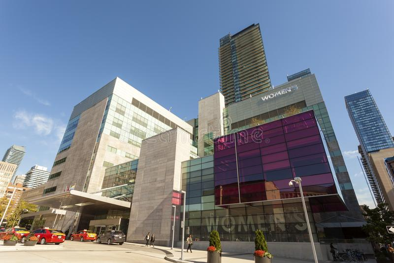 Women`s College Hospital in Toronto, Canada royalty free stock photos