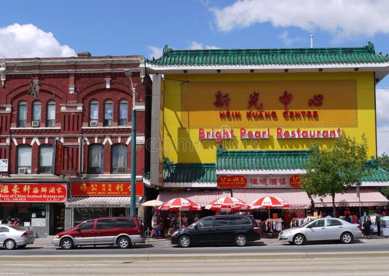 Toronto Chinatown Editorial Stock Image