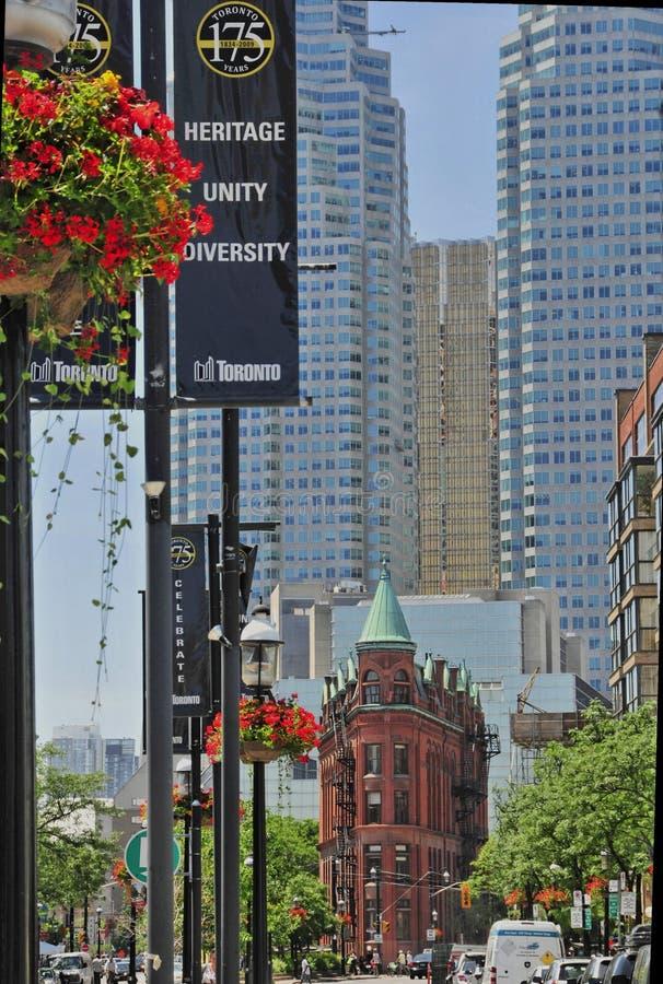 Toronto - cidade velha da baixa fotos de stock royalty free