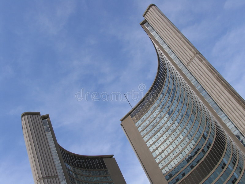 Download Toronto City Hall stock photo. Image of municipality, city - 1413296