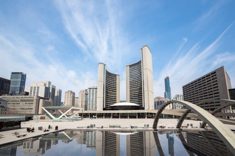Toronto City Hall royalty free stock photography