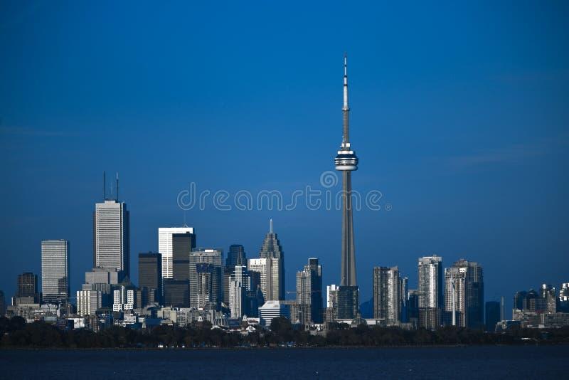 Toronto city line stock image