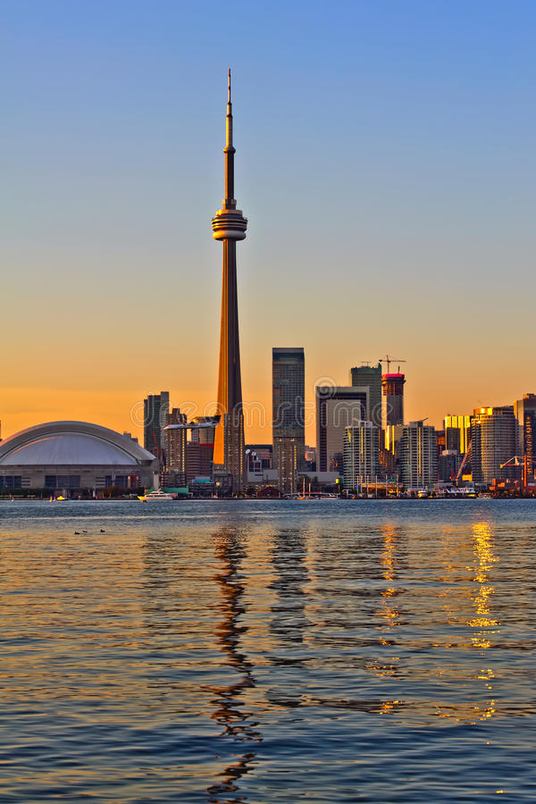 Toronto city view stock images