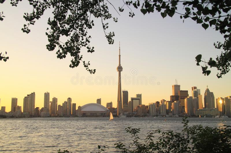 Download Toronto Cityscape From Central Island Stock Photography - Image: 15348352