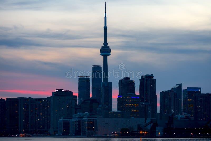 Toronto & CN-torn fotografering för bildbyråer