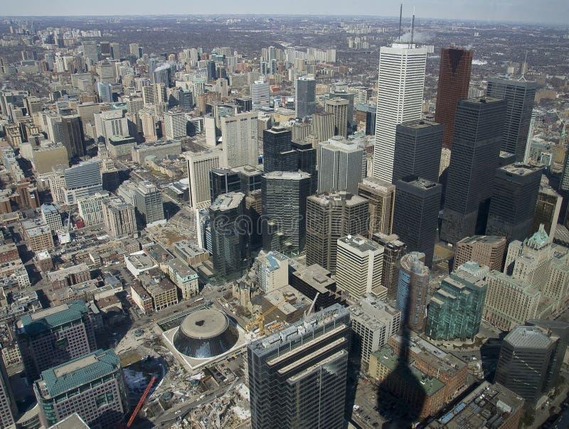 Toronto dalla torretta fotografia stock