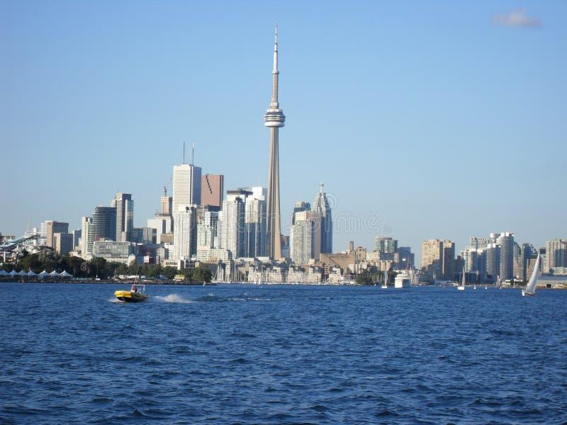 Toronto de un barco imagen de archivo