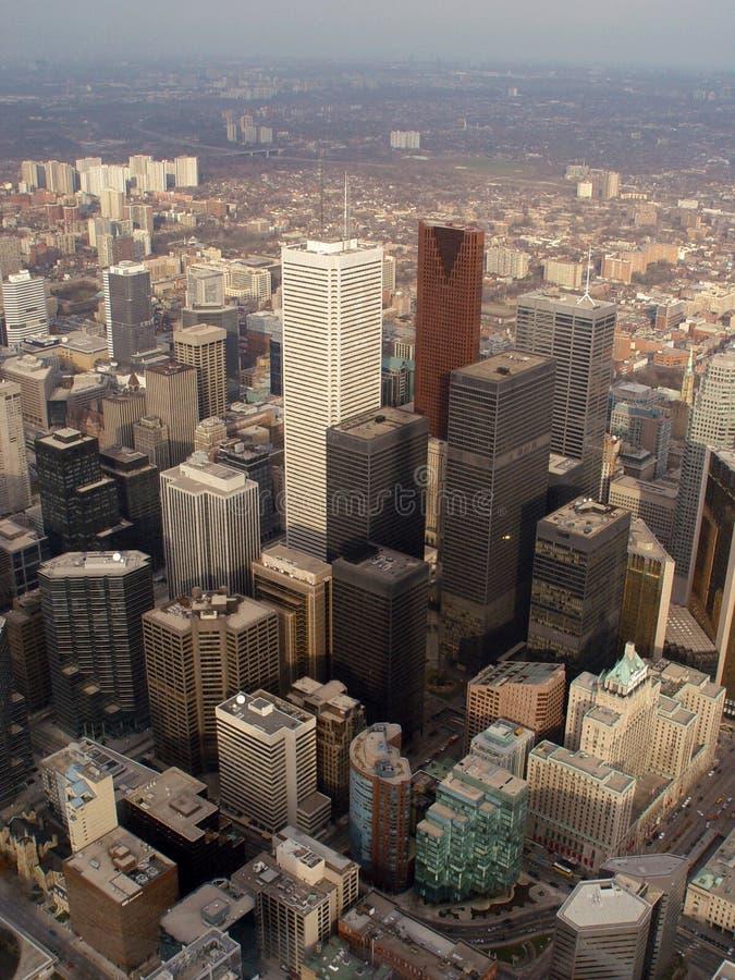 Toronto del centro fotografie stock