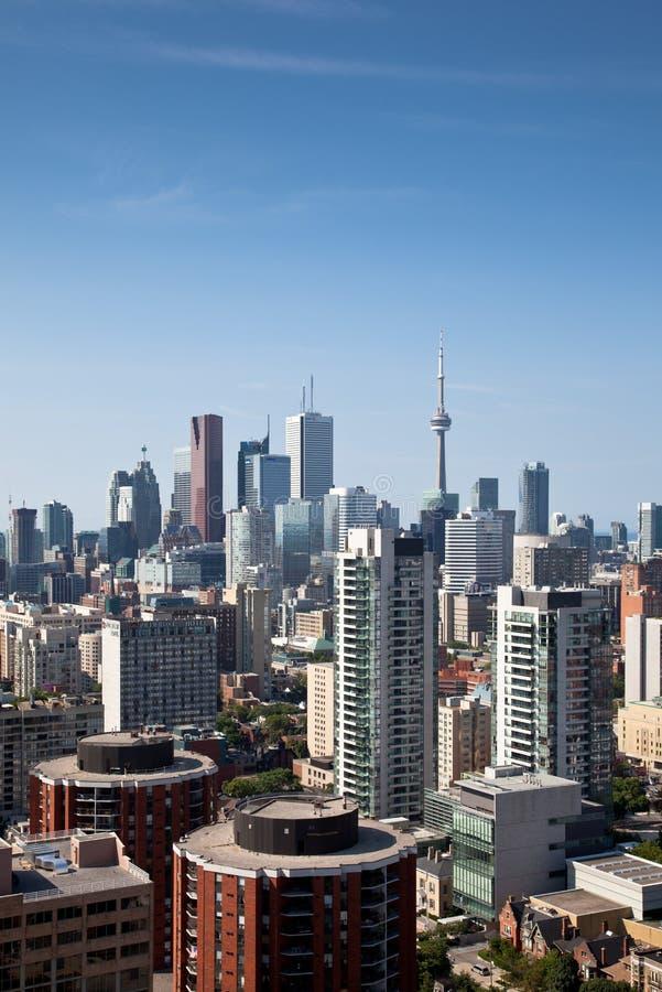 Toronto del centro, Canada immagine stock libera da diritti
