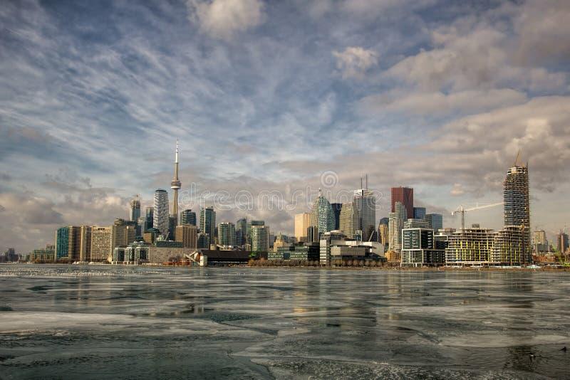 Toronto del embarcadero de Polson imagen de archivo