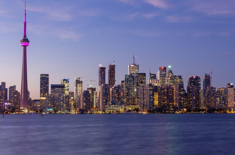 Toronto do centro imagens de stock