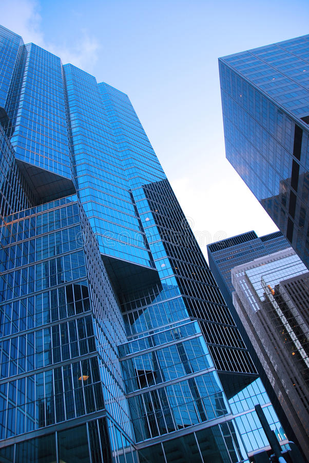 Toronto downtown buildings royalty free stock images