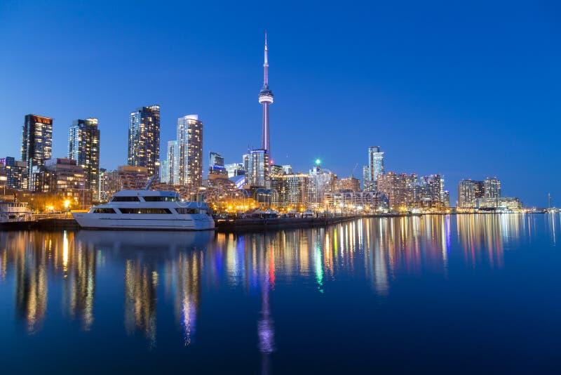 Toronto Downtown at Dusk royalty free stock photo
