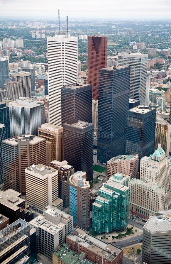 Toronto du centre photo libre de droits