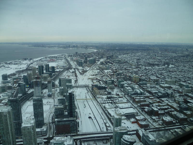 Toronto du ciel photographie stock libre de droits