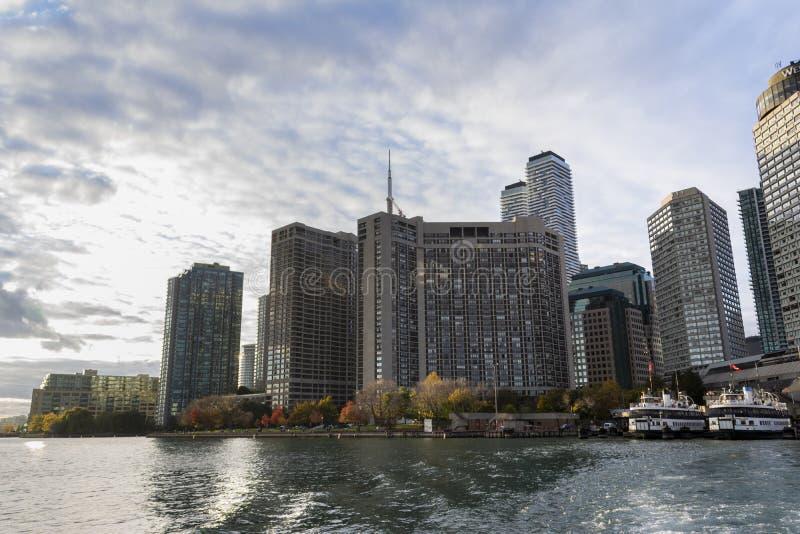 Toronto-Fährhafen lizenzfreies stockfoto