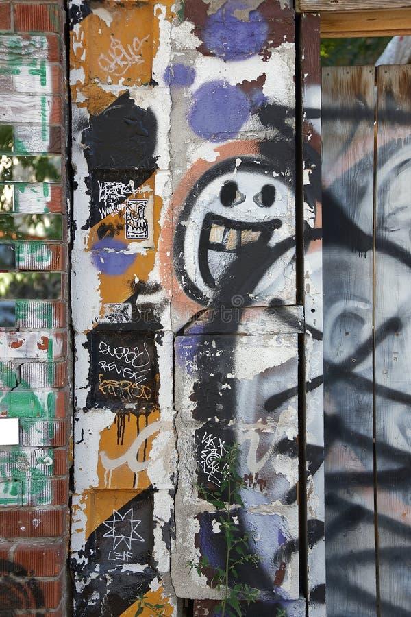 Toronto för väggmålning spadaina 2016 fotografering för bildbyråer