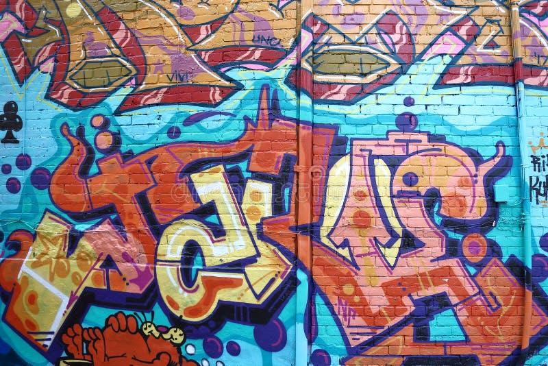 Toronto för väggmålning spadaina 2016 royaltyfri foto