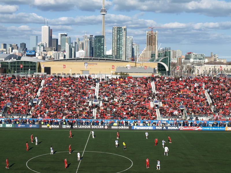 Toronto FC Home Game 09 royalty free stock photos
