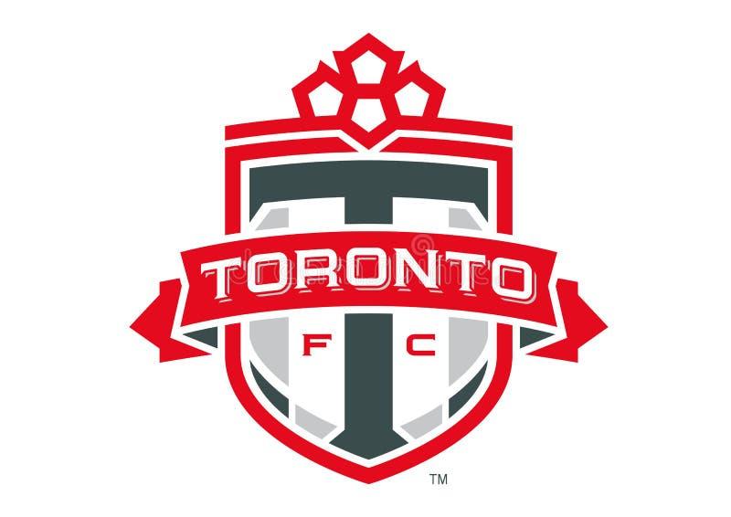 Toronto FC Logo. Collection of vector logos of Major League Soccer football teams. vector format available AI illustrator stock illustration