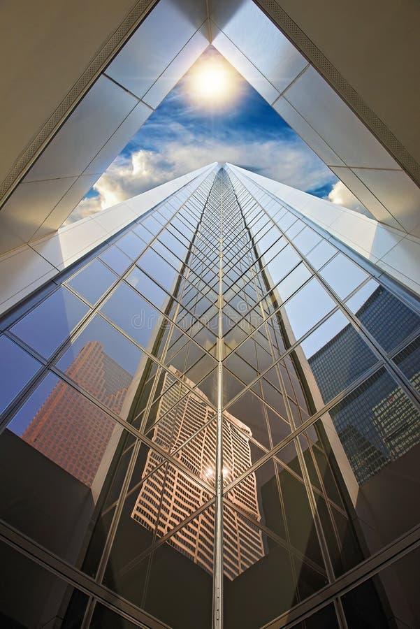 Toronto financial district skyline. Skyline of Toronto financial district stock photography